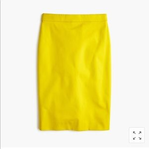 Petite No. 2 pencil skirt in twoway stretch cotton